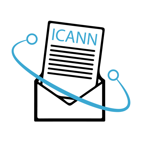 ICANN generic letter image