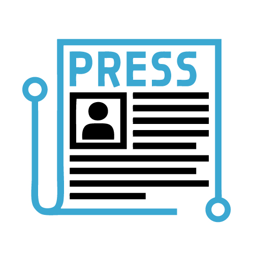 Generic press release icon